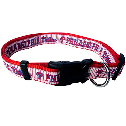 - MLB PHILADELPHIA PHILLIES Dog Collar, Medium