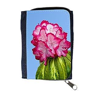 le portefeuille de grands luxe femmes avec beaucoup de compartiments // M00157892 Hermosa flor rosada brillante // Purse Wallet