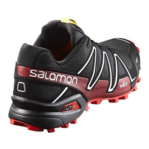 Course Flash Cs S rouge lab Noir Salomon Chaussure blanc 3 Trial Spikecross IvZ6xYqxw