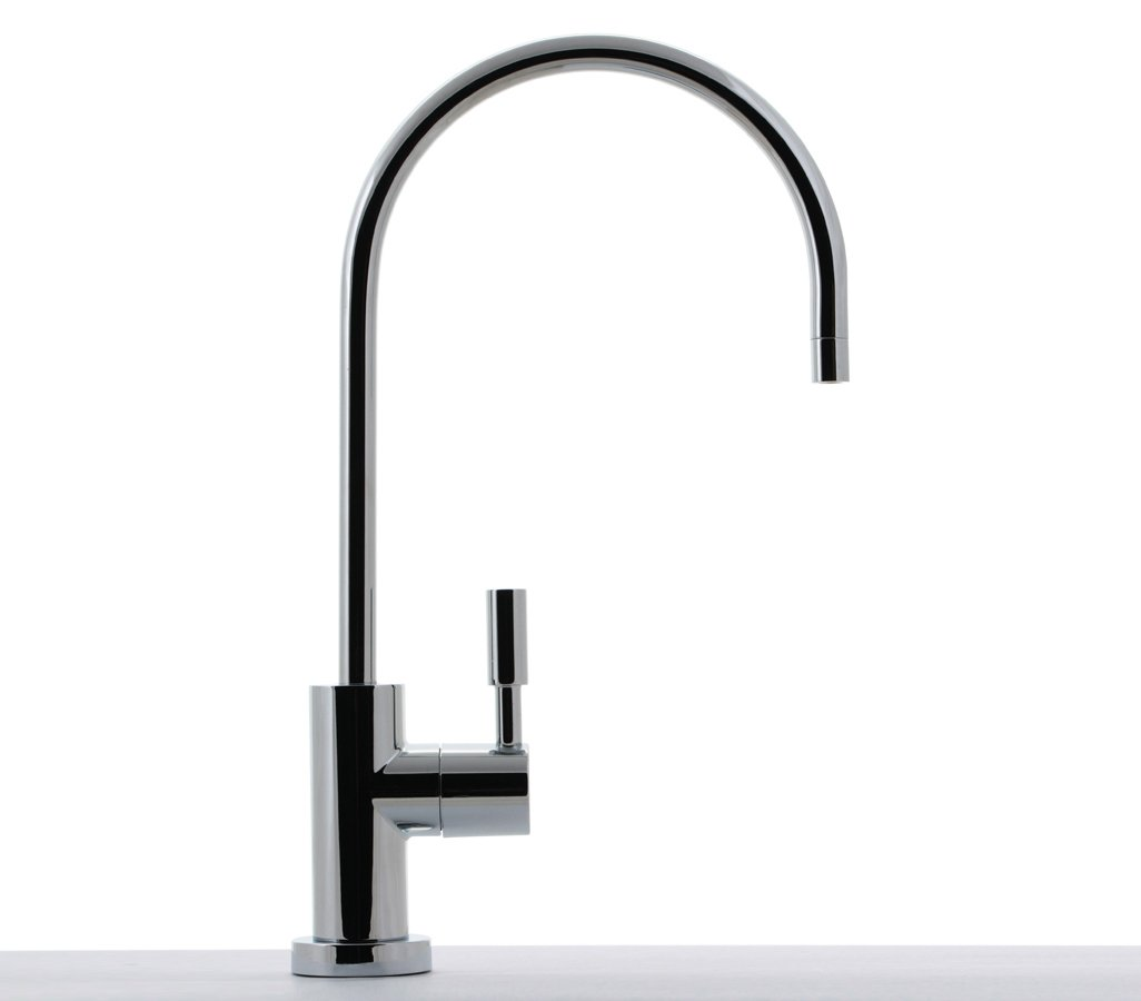 Lead Free Hydronix LF-BLRAG Teir1 Long Reach RO Reverse Osmosis or Filtered Water Faucet Chrome with Air Gap