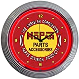 Neonetics Mopar Vintage Neon Wall Clock, 15-Inch Review