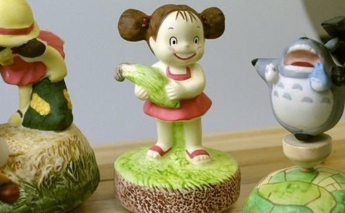 Sekiguchi Studio Ghibli My neighbor Totoro Music box''Souvenir for Mother''Japan