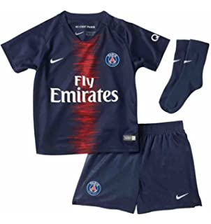 3d43d1b839e Amazon.com   Nike 2018-2019 Atletico Madrid Home Little Boys Mini ...