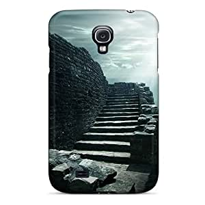 Hard Plastic Galaxy S4 Case Back Cover,hot Stone Stairway Case At Perfect Diy