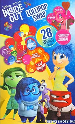Amazoncom  Inside Out Valentines Day Lollipop Candy  Card Kit