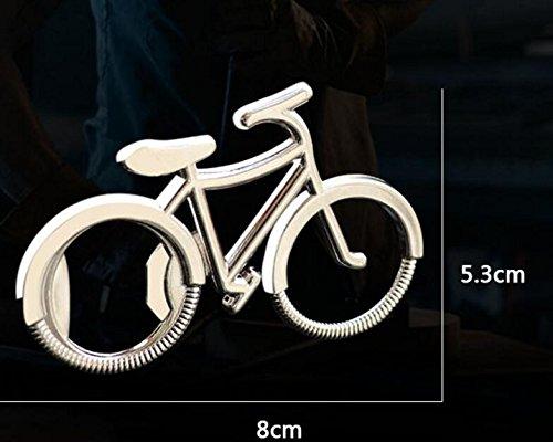 Sonpo - Llavero con abridor de botellas para bicicleta, diseño de ...