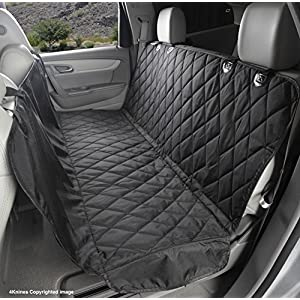 4Knines Dog Seat Cover with Hammock for Full Size Trucks and Large SUVs – Black Extra Large – USA Based Company Click on image for further info.