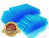 #2: MONOLIT PREMIUM HEAT SHRINK BUTT CONNECTORS BLUE 100pcs Waterproof Marine Automotive Wire Electrical Connector Kit 14-16 AWG Blue Gauge