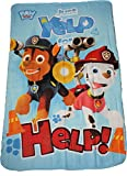 Paw Patrol Blue Polar Fleece Blanket By BestTrend®