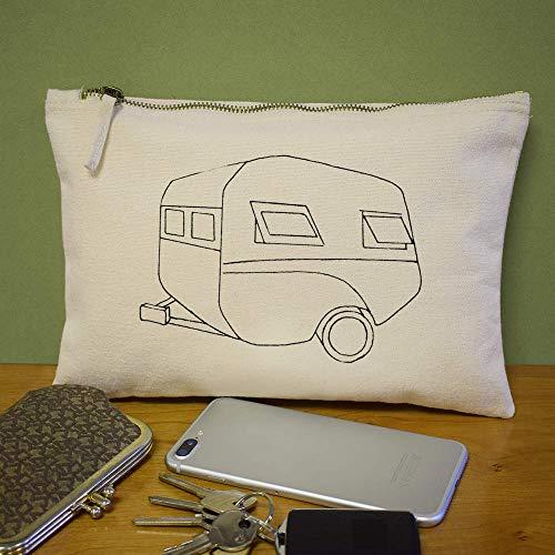 Accesorios 'caravana De Vintage' cl00014088 Bolso Azeeda Case Embrague XqzOz