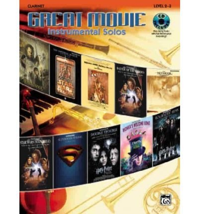 Read Online Great Movie Instrumental Solos: Clarinet, Book & CD (Paperback) - Common pdf