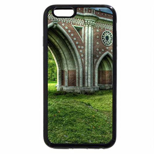 iPhone 6S / iPhone 6 Case (Black) wonderful bridge in tsaritsyno park in moscow hdr