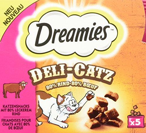 Dreamies Katzensnacks Katzenleckerli Deli-Catz, 1 Packungen (1 x 25g)