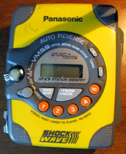 Panasonic Shock-Wave RQ-SW20 Radio Cassette Player
