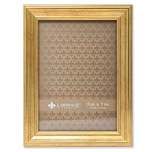 Lawrence Frames Sutter Burnished Picture Frame, 5 by 7-Inch,