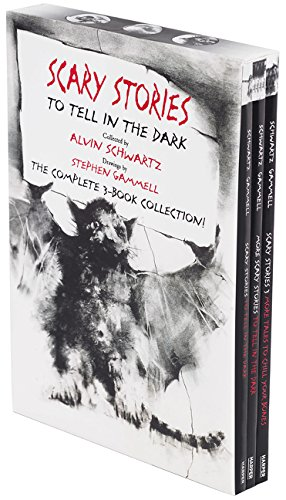 Scary Stories Paperback Box Set: The Complete 3-Book Collection with Classic Art by Stephen Gammell (Scary Stories To Tell In The Dark)
