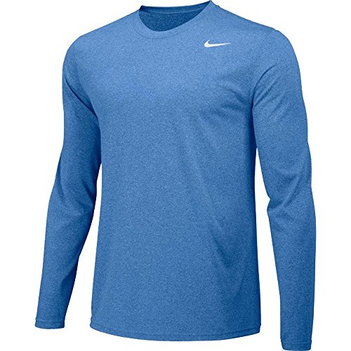 - Nike Mens Longsleeve Legend - Columbia Blue - Medium