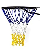 Kyпить Basketball Net | NCAA & NBA Size | Fits Indoor and Outdoor Hoop/Goal | Replacement Netting for Official, Boys, Youth, Pool/Poolside Games. Blue, Yellow, Gold, White, Black & more by Fandom Nets на Amazon.com