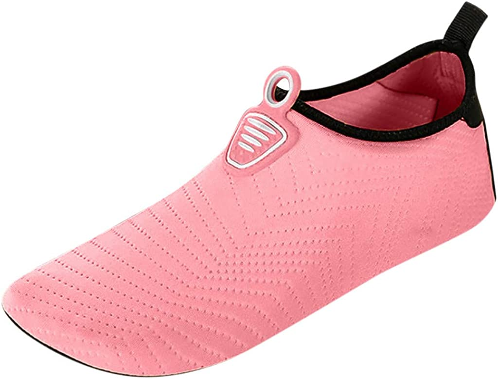 Dunacifa Womens and Mens Water Shoes Quick-Dry Aqua Socks Barefoot for Outdoor Beach Swim Surf Yoga Exercise