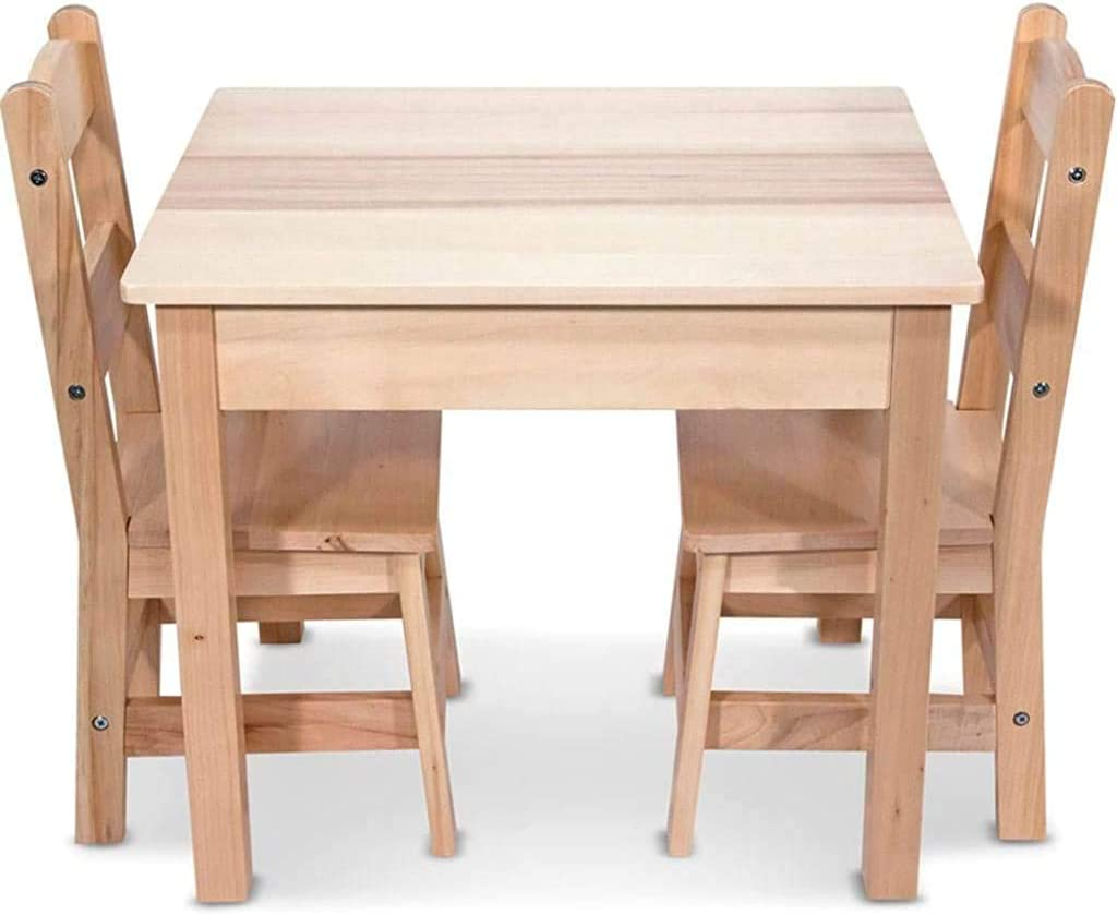 Melissa & Doug Tables and Chairs 3 Piece Set Gray