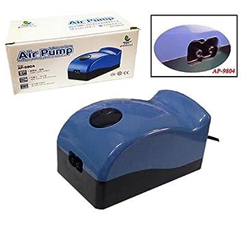 Air Pump Compresor Oxigenador Bomba de Aire de Alta Presión para Acuario o Pecera AP-9804: Amazon.es: Jardín