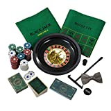 Talking Tables Host Your Own Casino Night including 3 Casino Games for Parties, Celebrations, Gifts,