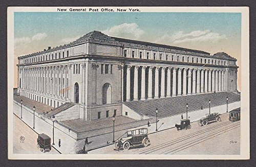 New General Post Office New York NY postcard 1910s at Amazon's