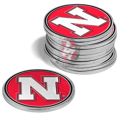 NCAA Nebraska Cornhuskers - 12 Pack Ball Markers
