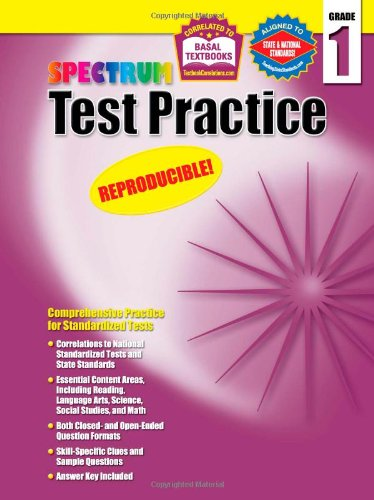 Download Spectrum Test Practice, Grade 1 PDF