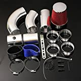 AUDEW Universal Car Auto Racing Direct Cold Air Filter Injection Intake Kit System