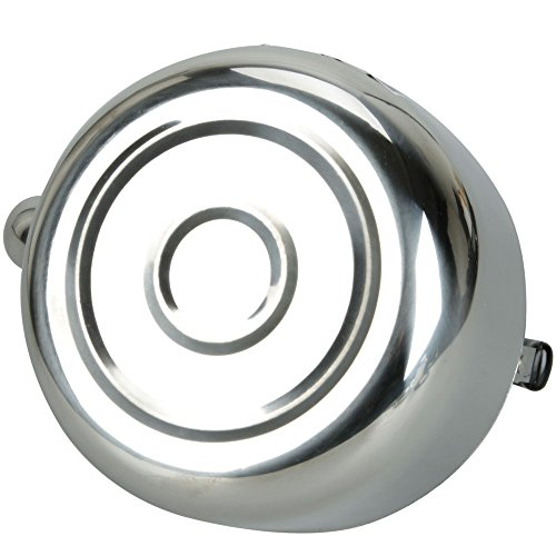 Stainless Steel Tea Kettle 4L Hot Water Stovetop Classic Design Hums When Water Boils by DINY Home & Style (Image #2)