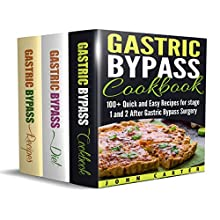 Gastric Bypass: 3 in 1 Box Set - Gastric Bypass Cookbook, Gastric Bypass Diet Guide, Gastric Bypass Recipes Audiobook by John Carter Narrated by Dean Eby