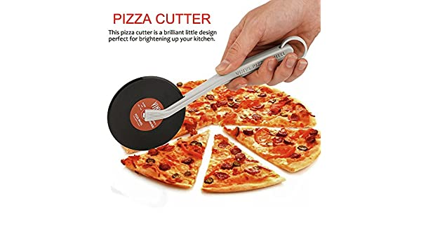 Tocadiscos cortador de Pizza: Amazon.es: Hogar