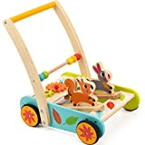 cossy Wooden Baby Learning Walker Toddler Toys for 1 Year Old Rabbit