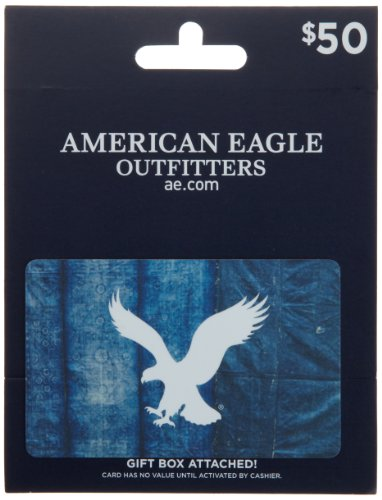Image of the American Eagle Outfitters Gift Card $50