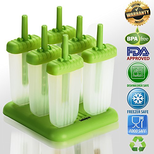 Lebice-Popsicle-Molds-BPA-Free-6-Ice-Pop-Makers-with-Ice-Cream-Recipes-E-book
