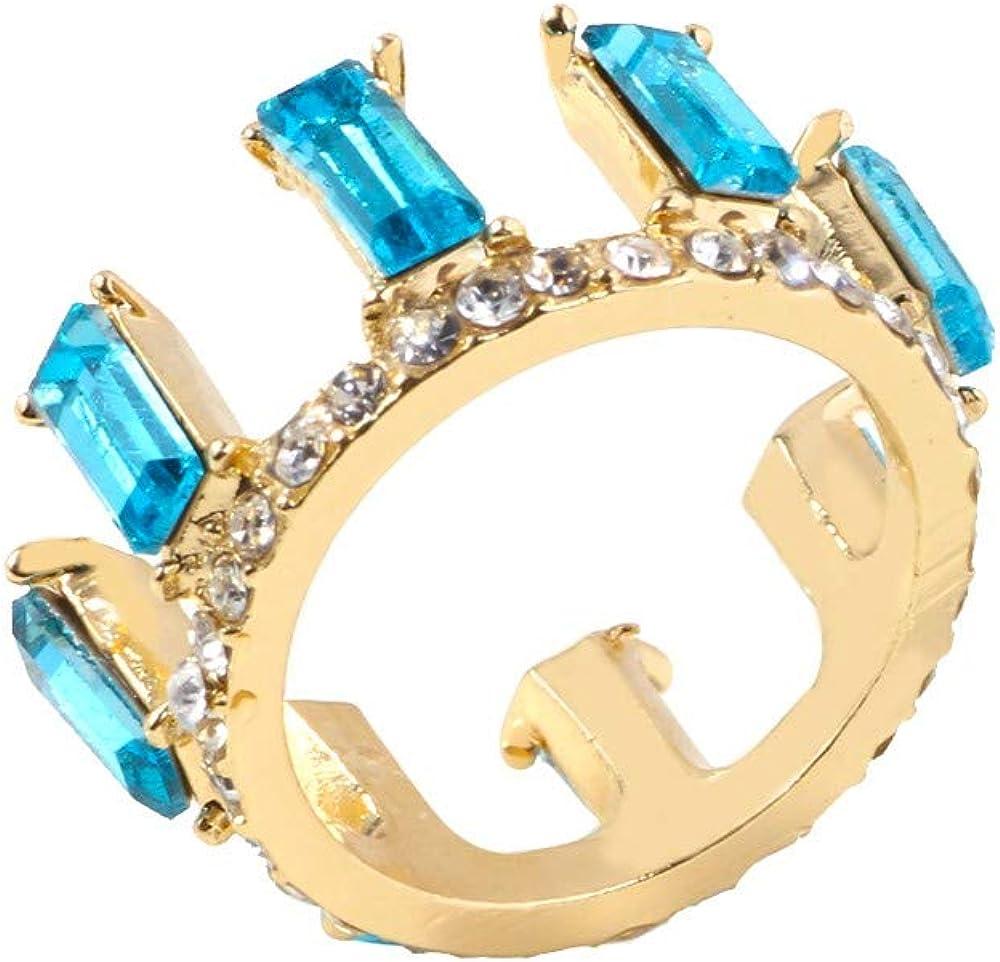 Women/'s Fashion Personality Creative Rhinestone Zircon Alloy Ring Jewelry FY