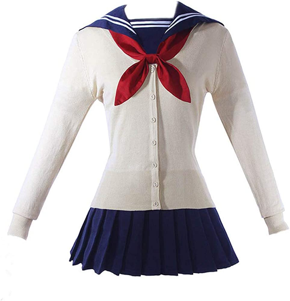 Expeke Womens Sailor Under blast sales Sweater Dress Himiko Co Max 54% OFF Cosplay Toga Outfit