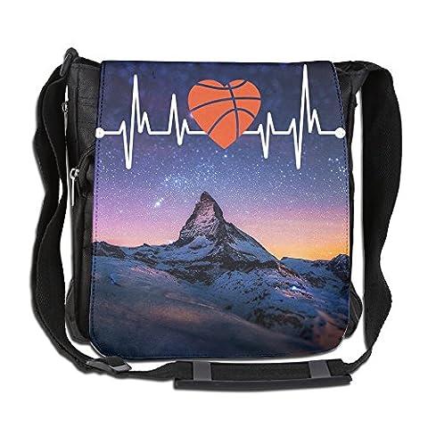 Basketball T-shirt Cross Body Shoulder Bag (Hippie Acc)