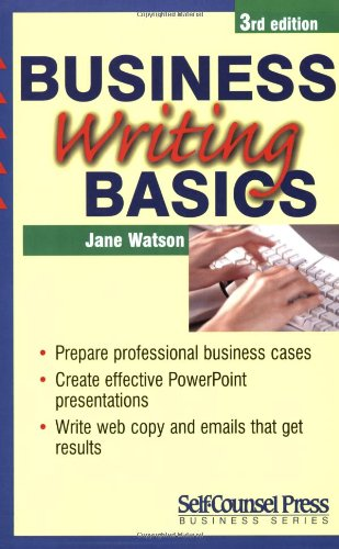 Business Writing Basics (Self-Counsel Business) ebook
