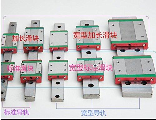 MGW12H Slider Block Miniature Rail Guide Slide Linear Sliding Block CNC Tool