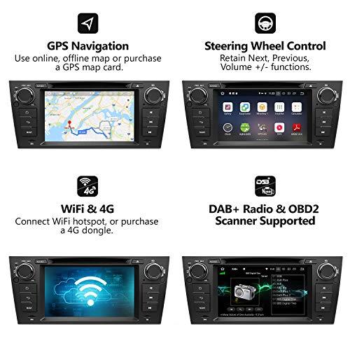 해외구매대행 $229 99] Head Unit Android Auto Car Stereo