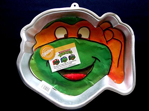 Wilton Teenage Mutant NINJA Turtle Cake Pan -- RETIRED