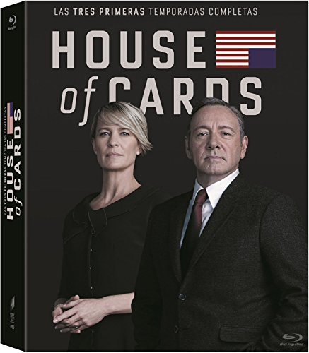 House of Cards (Complete Seasons 1-3) - 11-Disc Box Set ( House of Cards - Seasons One, Two & Three (39 Episodes) ) [ Blu-Ray, Reg.A/B/C Import - Spain ]
