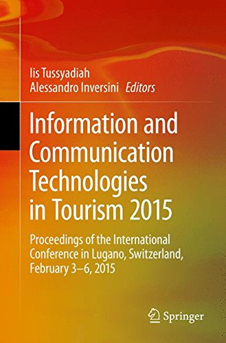 Information and Communication Technologies in Tourism 2015: Proceedings of the International Conference in Lugano, Switzerland, February 3 - 6, - Online In Shopping Switzerland