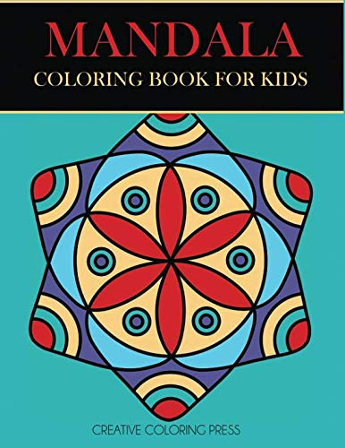 Mandala Coloring Book for Kids: Easy Mandalas for Beginners