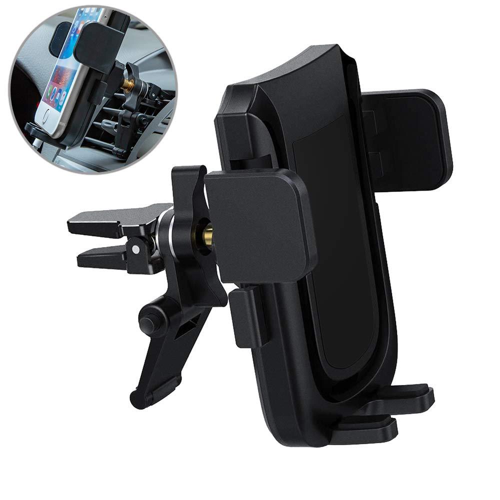 Handyhalterung Auto Lü ftung KFZ Air-Vent-Telefonhalter fü r Auto mit Verstellbarem Auto-Telefon-Halter fü r iPhone, Samsung, Google Nexus, Huawei und Mehr - Uverbon