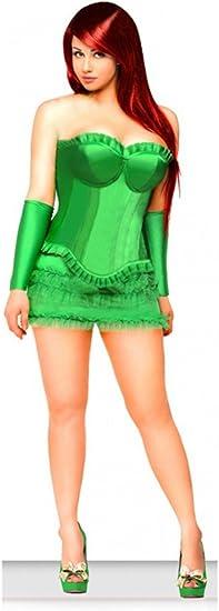 shoperama Korsagen Disfraz de Poison Ivy: Amazon.es: Juguetes y ...