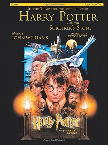 Selected Themes from the Motion Picture Harry Potter and the Sorcerer's Stone: Clarinet (Instrumental Series) Paperback April, 2002