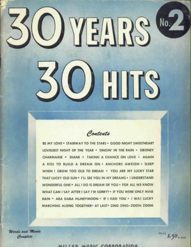 30 Years, 30 Hits,  No. 2: Words and Music Complete